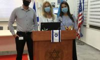 150 students compete in Israel's largest ever virtual MUN conference as part of the global UN75 activities