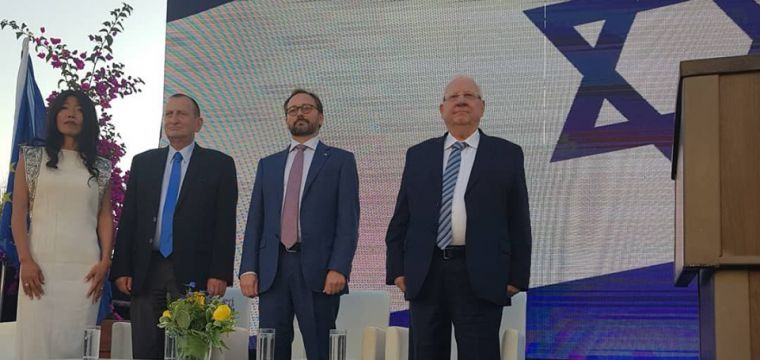 European Union Embassy Hosts Europe Day 2019 Reception with Guests President Reuven Rivlin and Mayor Ron Huldai