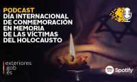 The Minister of Foreign Affairs of Spain, Ms. Arancha González, joins the campaign, #ProtectTheFacts to combat Holocaust denial #Shoah