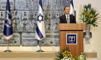 President Isaac Herzog and the First Lady host their first annual Rosh HaShanah toast for the foreign diplomatic corps