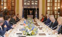 .President Rivlin held an emergency briefing for ambassadors of European Union member states in Israel
