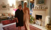 Eurovision reception at the home of Ireland Ambassador