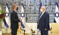 .President Rivlin received diplomatic credentials from the new ambassadors of Belgium, Sweden, Norway, Uzbekistan and Latvia