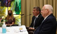 . President Rivlin held a videoconference meeting with Jewish communal leaders from across the United States