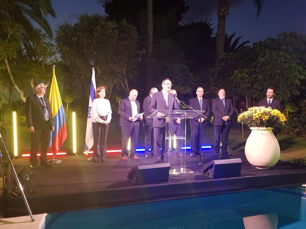 Embassy of Colombia Celebrates 209 Years of Independence with