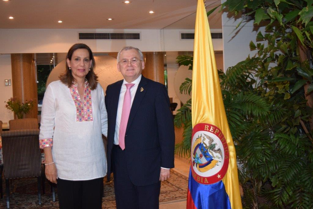 Colombian music and delicacies as 207 years of independence, and